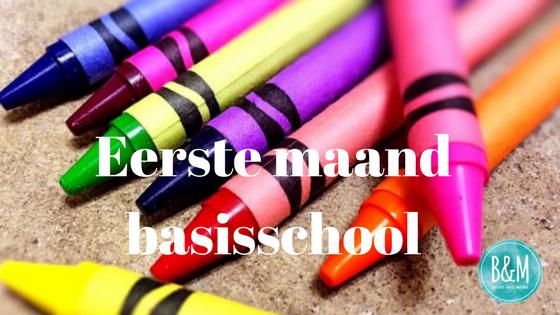 Eerste maand basisschool
