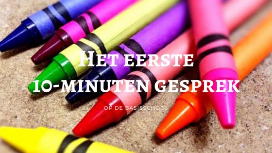 10-minuten gesprek basisschool