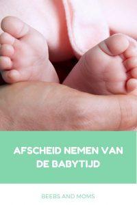 Afscheid babyfase