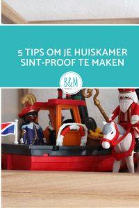 5 tips om je woonkamer Sint -Proof te maken. Sinterklaas interieur versiering