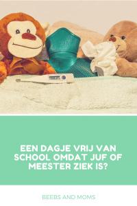 Dagje vrij van school omdat juf of meester ziek is?