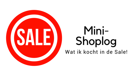 Sale Mini-Shoplog