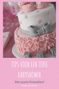 Babyshower tips Pinterest