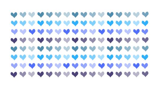 Blauwe hartjes, brief aan sterrenkindje