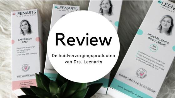 Review huidverzorgingsproducten Drs Leenarts