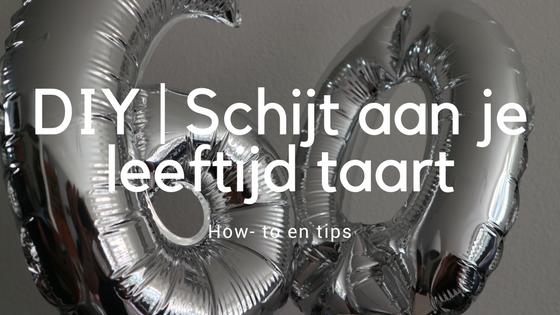 DIY - Schijt aan je leeftijd taart
