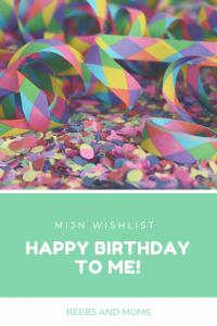 Birthday wishlist Pinterest