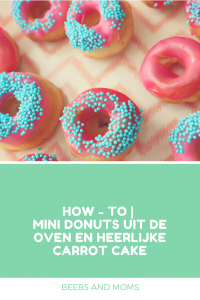 Mini Donuts uit de oven