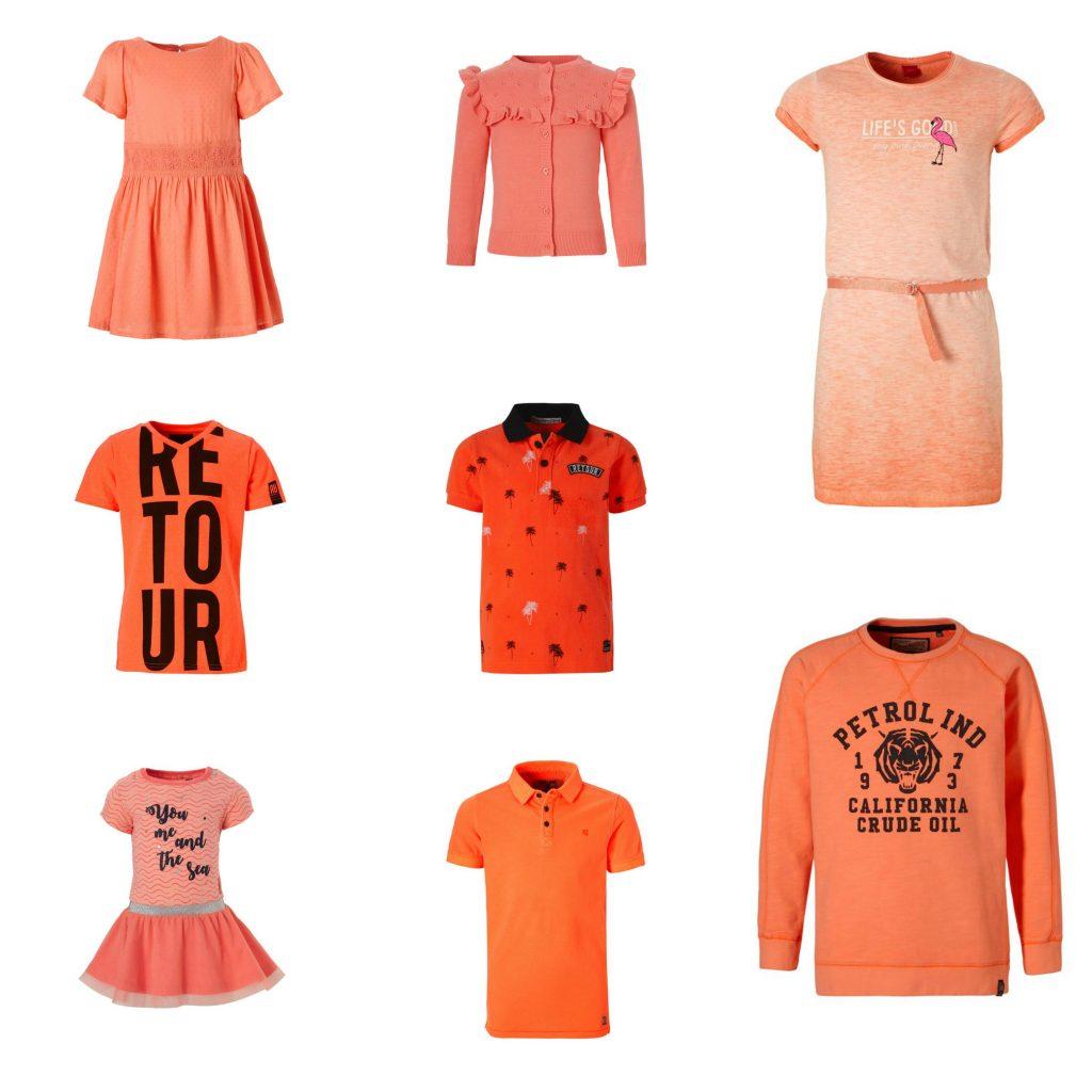 oranje kleding kinderen