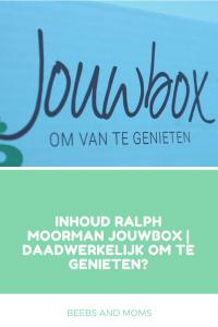Inhoud Ralph Moorman Jouwbox