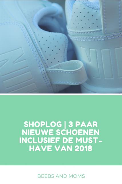 Shoplog 3 paar nieuwe schoenen