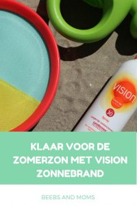Klaar voor de zomerzon Vision | Zonnebrand van Vision review