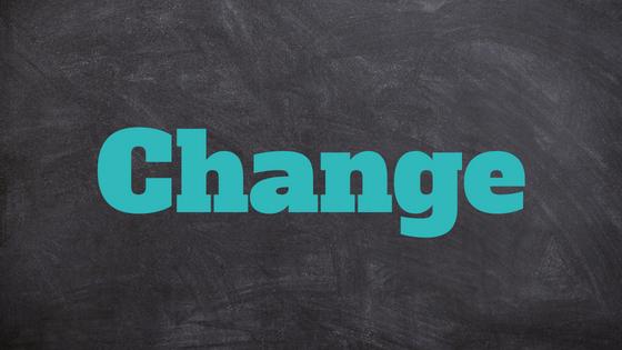 Moeite met veranderingen