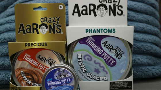 Crazy Aaron's Thinking Putty review Dutch - Nederlands