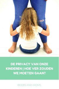De privacy van onze kinderen, hoe ver zouden we moeten gaan?