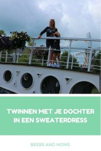 How to twinning moeder en dochter sweaterdress