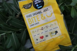 Pure Organic Bite & smile lemon ginger