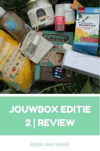 Review en inhoud van de jouwbox editie 2 met biologische en vegan producten
