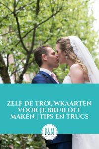 Je trouwkaarten zelf maken voor je bruiloft budget trouwskaarten tips trouwkaartjes