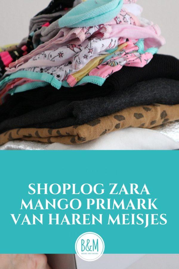 Shoplog herfstcollectie meisjes 2018 Zara Mango van Haren Primark