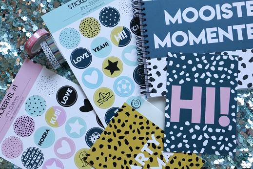 Studio ins & outs stickers, kaartjes en mooiste momenten boek