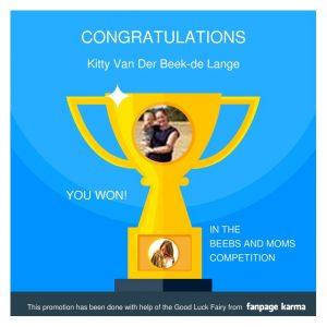 Winnaar Winactie armbandje Lux & Luz Beebs and Moms
