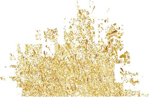 Gouden deeltjes - Sebacia