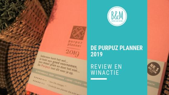 Purpuz Planner 2019 Winactie