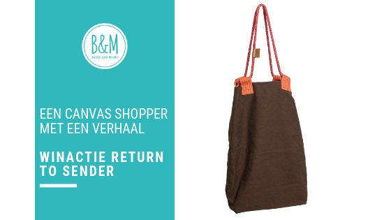Winactie Canvas Shopper Return to Sender een tas met een verhaal
