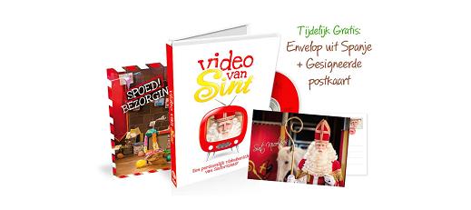 Persoonlijke video van Sinterklaas
