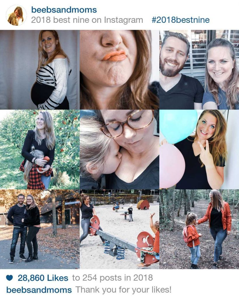 Best Nine 2018 Beebs and Moms