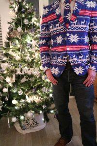 Casusal kerstpak voor mannen