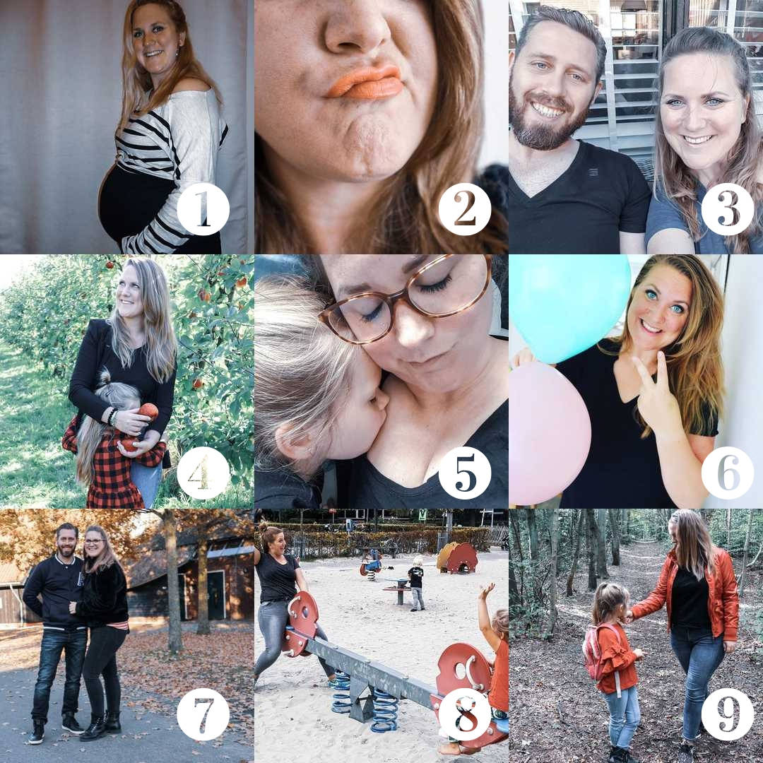 Mijn best nine 2018 Beebs and Moms