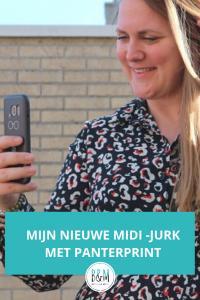 Nieuwe Midi - jurk met panterprint Wehkamp Aware 2019