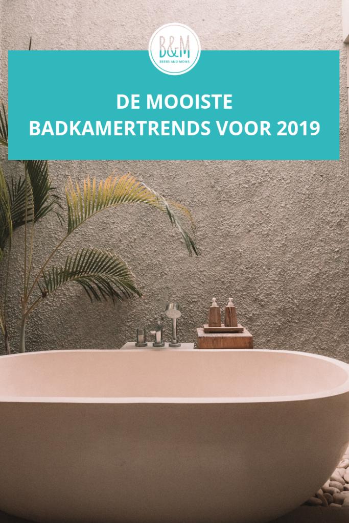 De mooiste badkamertrends voor 2019