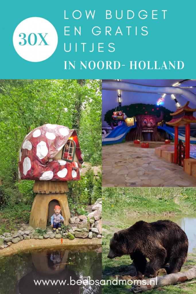30 budget en gratis uitjes met kinderen in Noord Holland