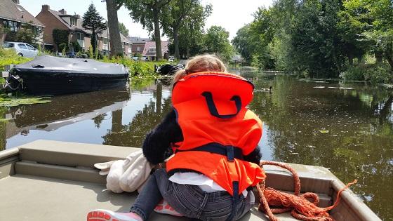 bootje varen in Haarlem - uitje in Haarlem e.o.