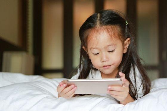 het telefoongebruik van jonge kinderen afspraken maken