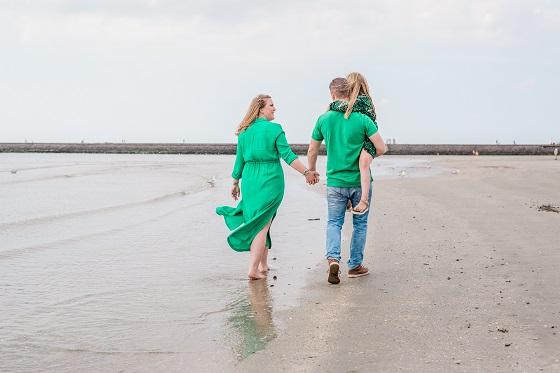 strandfotoshoot met het gezin en tips
