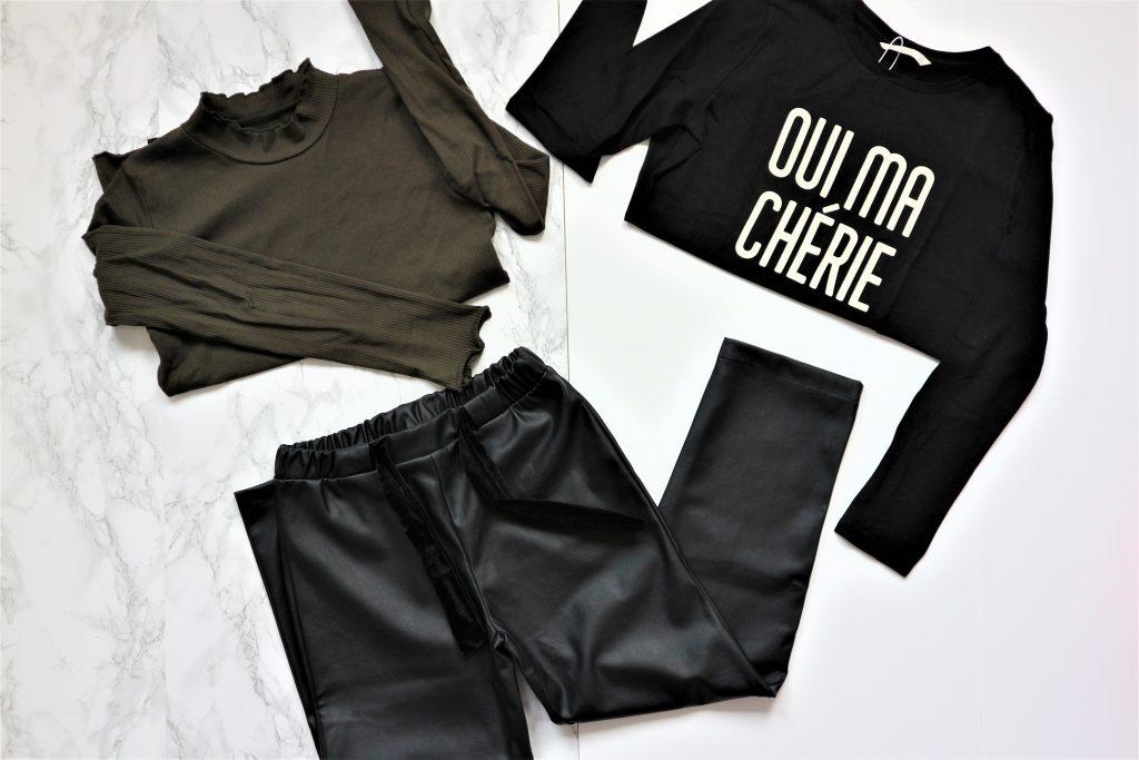Wintercollectie meisjes 2019 shoplog leerlook comfortabele broek