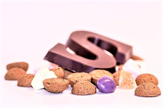 Sinterklaas aftelkalender snoepgoed