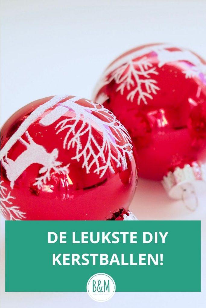 De leukste DIY Kerstballen om zelf te maken deze kerst