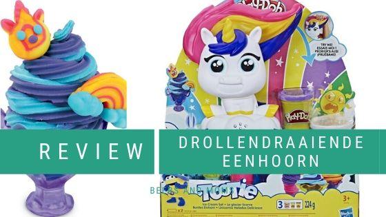 Drollendraaiende eenhoorn Play-Doh review