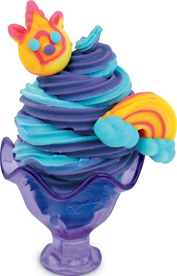 Play-Doh Eenhoorn ijsjes