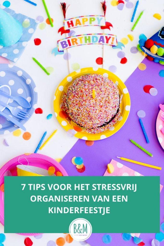 7 tips voor het organiseren van een kinderfeestje