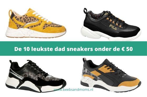 De leukste goedkope dad sneakers onder de € 50