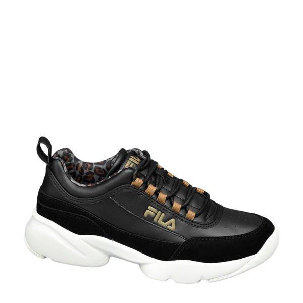 dad sneakers fila zwart