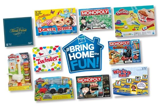 Hasbro Bring Home The Fun