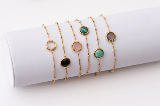 Armband met edelstenen Lucardi
