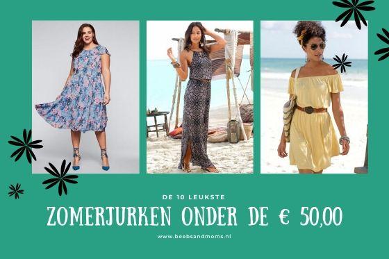 De 10 leukste jurken voor deze zomer onder de € 50